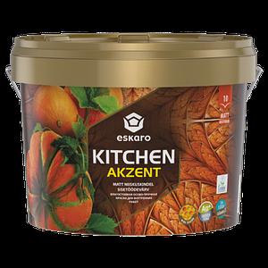 Eskaro Akzent Kitchen Влагостойкая особо прочная краска для внутренних работ