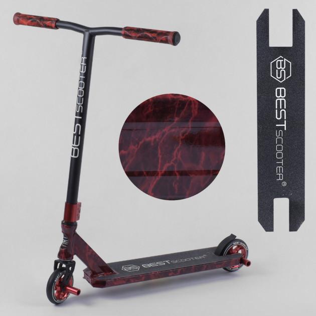 Самокат трюковый Best Scooter 20001,HIC-система, Анодированная покраска