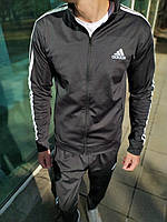 Мужской Спортивный костюм Adidas в стиле Адидас, Дайвинг, код F-001. Черный