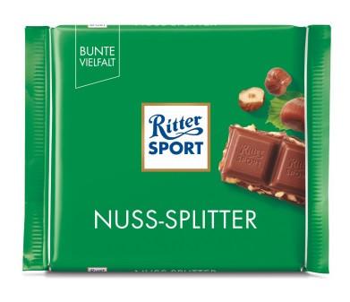 Шоколад молочный Ritter SPORT Nuss-Splitter 100 г Германия