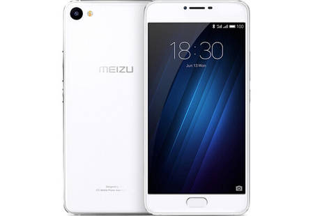 Смартфон Meizu U10 3/32Gb White Stock A-, фото 2