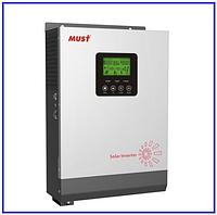 Мust 3000ВА PV18-3024 НМ MPPT 60А гибридный инвертор напряжения (ИБП), фото 1
