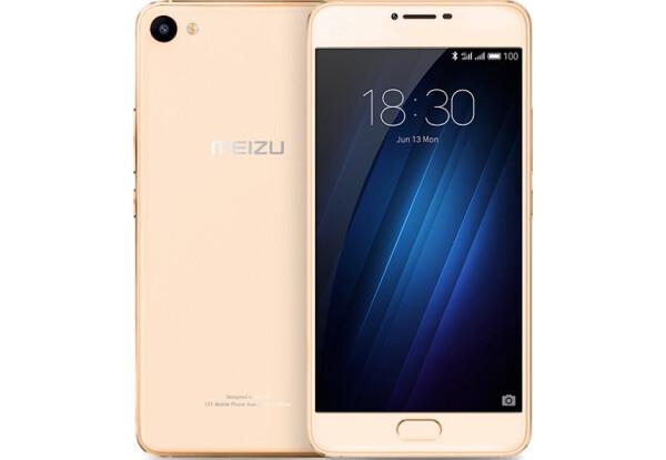 Смартфон Meizu U10 3/32Gb Gold Stock A-