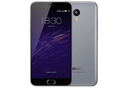 Смартфон Meizu M2 Note 16 Gb Gray Stock B-, фото 2