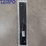 Консоль откидная Tempo 450 мм. черная, для раскладного стола., фото 9