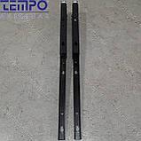 Консоль откидная Tempo 450 мм. черная, для раскладного стола., фото 5