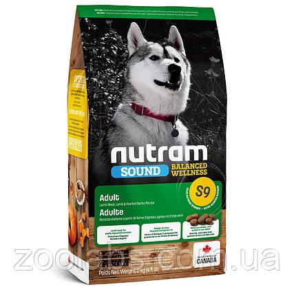 Корм Nutram для собак с ягненком | Nutram S9 Sound Balanced Wellness Natural Lamb Adult Dog 11,4 кг, фото 2