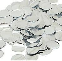 Конфетти серебро (100 г)