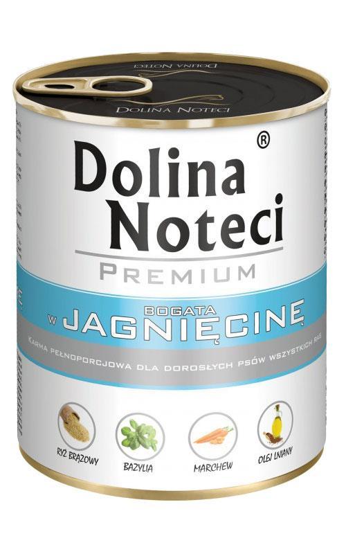 Консерва Dolina Noteci Premium Dog (65%) МОНО с ягненком, 800 гр