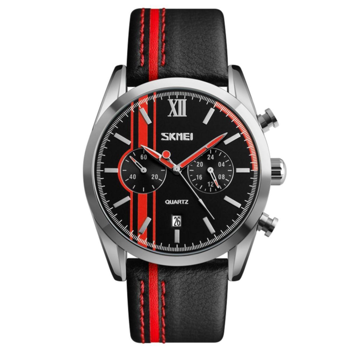 Часы Skmei 9148 BK- Red BOX (9148BOXBKR)