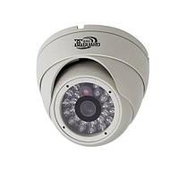 AHD видеокамера DigiGuard DG-2361AHD купольная камера видеонаблюдения  уличная 1.3 Мп