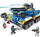 Конструктор Brick Танк Апокалипсис, 398 деталей в коробке 2713, фото 3