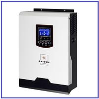 Axioma 3000ВА (2400Вт) 24В МРРТ 40А ISPWM 3000 гибридный инвертор напряжения (ИБП), фото 1