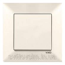 Вимикач VI-KO Meridian кремовий 1кл