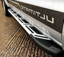 Подножки на Hyundai Kona (с 2018—) Хюндай Кона