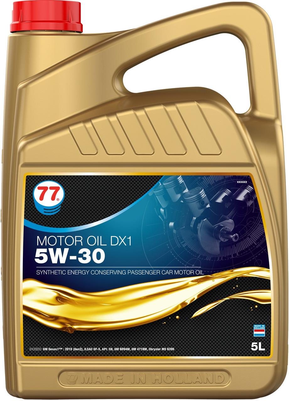 77 MOTOR OIL DX1 5W-30 (кан. 5 л)