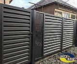 Забор Жалюзи Эксклюзив с лазерной резкой, фото 3