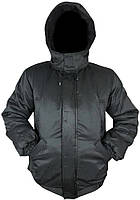 Куртка мужская Пилот, синтепоном+флис, водоотталкивающая ткань Таслан, Черная