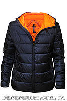 Куртка мужская демисезонная TIGER FORCE 20-71000A тёмно-синяя