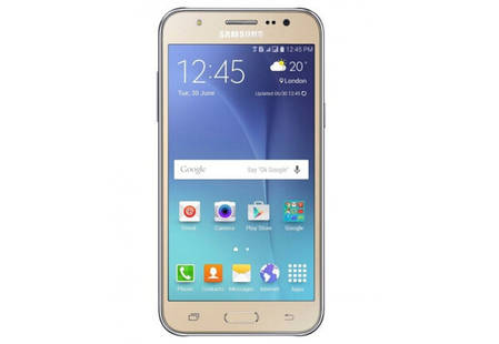 Смартфон Samsung Galaxy J7 J700H Gold Stock B, фото 2