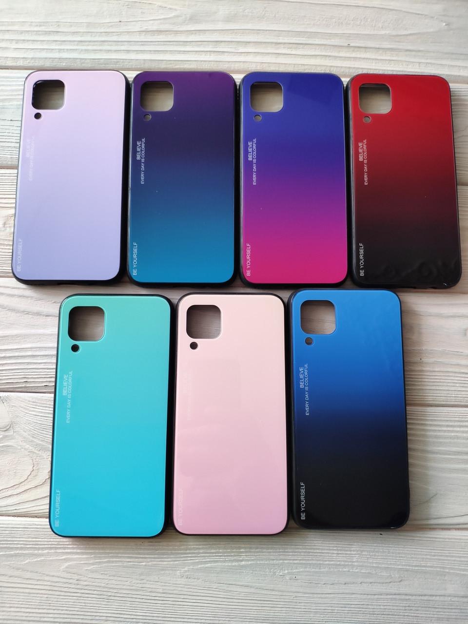 Чехол Gradient для Huawei P40 Lite (разные цвета)