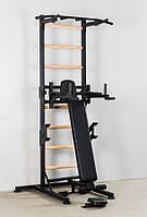 Шведская стенка усиленная передвижная до 130 кг плюс штангу весом до 200 кг, с деревянными перекладинами.