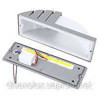 Светильник садово-парковый фасадный WL-2308 LED 8W 6500К серый IP65, фото 4