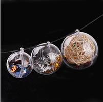 Прозрачные Шары набор пластиковых форм Santi , 10см, 5шт/уп код: 742261, фото 2