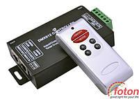 Контроллер однозональный  RF RGB DMX 12А (6 buttons)