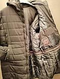 Куртка удлинённая 56р. Мужская, зимняя, фото 2