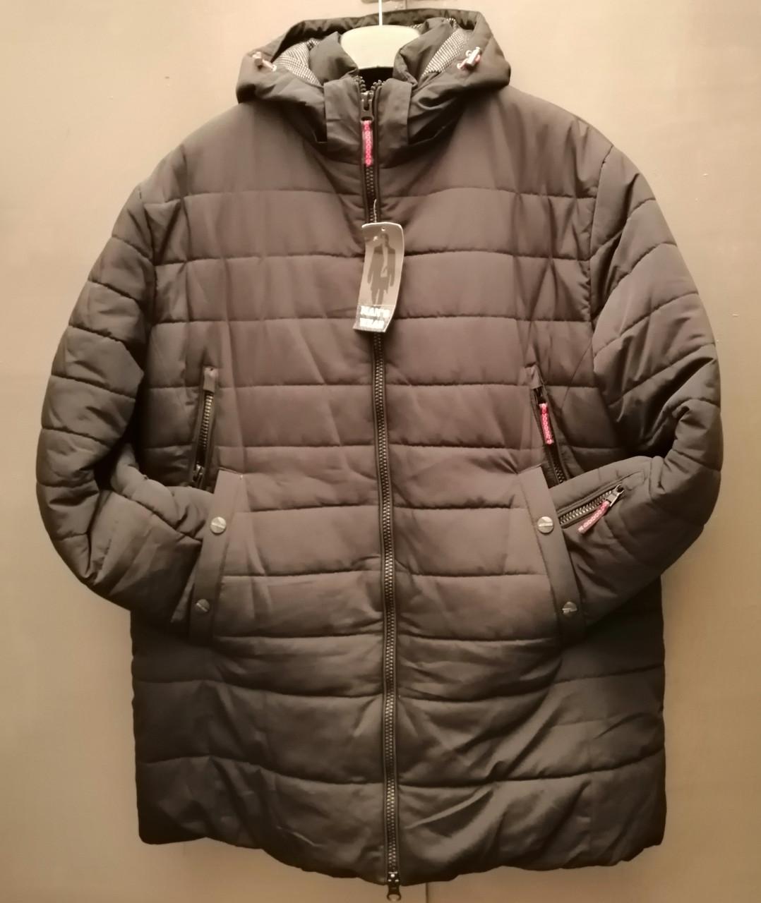 Куртка удлинённая 56р. Мужская, зимняя