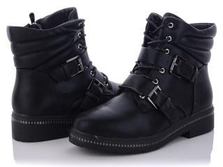 Ботинки женские черные Xifa-JZ8724-3