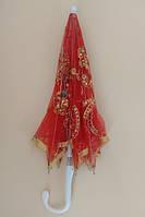Карнавальный зонт кружевной, зонтик для танцев Красный