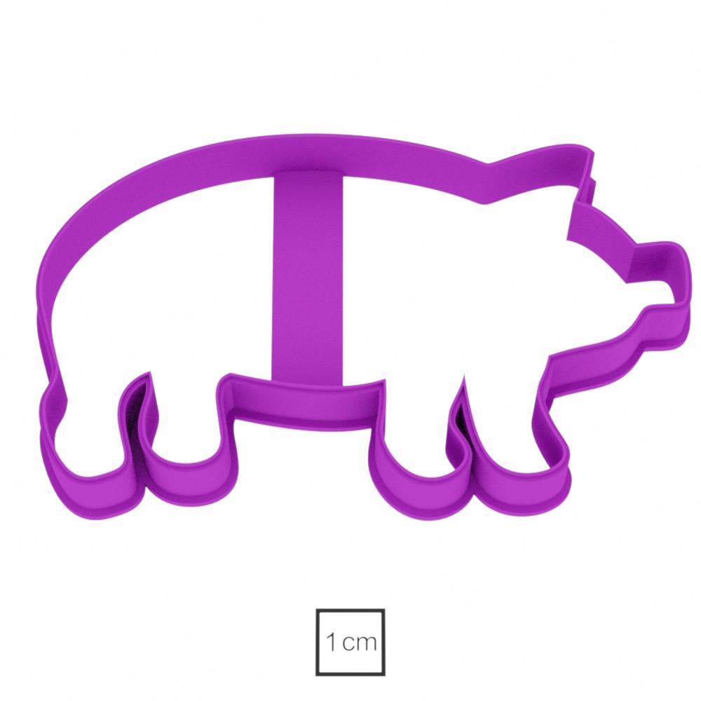 Висічка для пряників у вигляді свинки