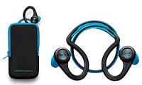 Bluetooth Plantronics BackBeat Fit, Stereo, Blue + чехол на руку