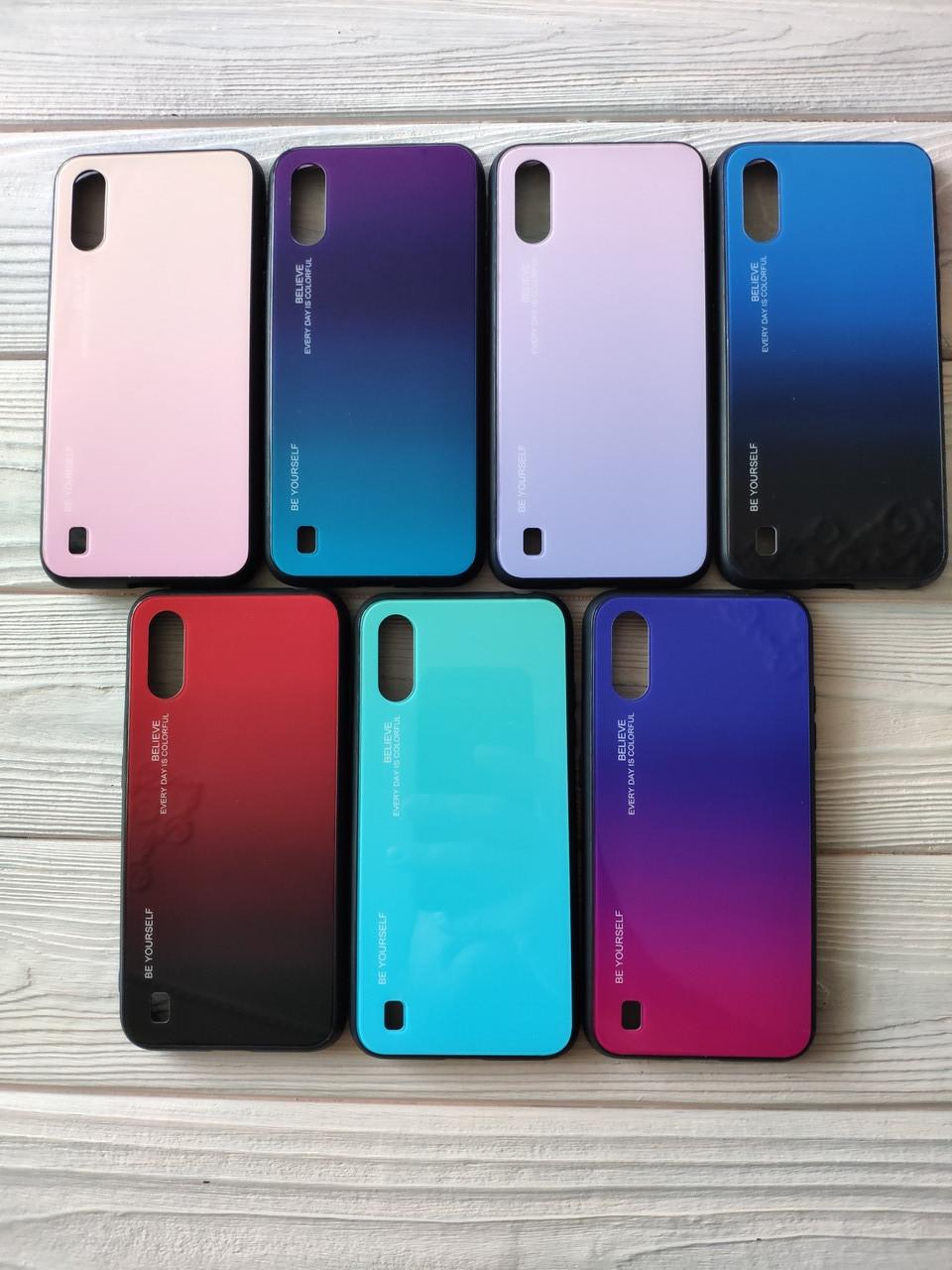 Чехол Gradient для Samsung Galaxy A01 2020 / A015F (разные цвета)