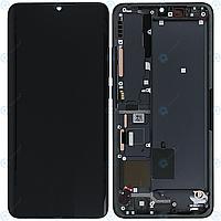Дисплей для Xiaomi Mi Note 10, Mi Note 10 Pro, Mi CC9 Pro, модуль (экран и сенсор), с рамкой, оригинал