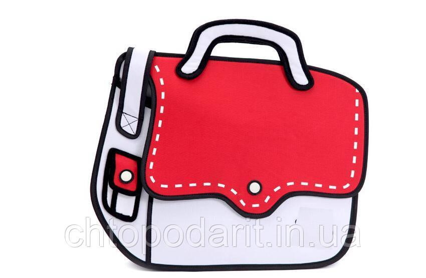Мультяшна сумка 2Д Код 10-0967