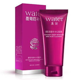 Пенка для умывания с экстрактом хризантемы Bioaqua Water Mexican Daisy Cleanser