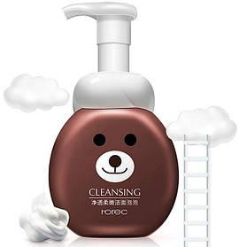 Мусс-пенка для умывания Rorec Soft Cleansing медведь 300 мл