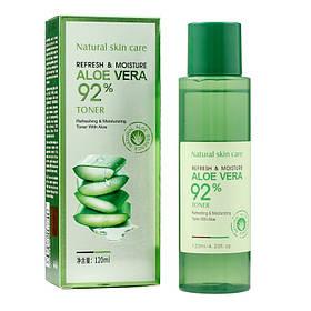 Тонер на основе алоэ вера Rorec Refresh & Moisture Aloe Vera 92% Toner