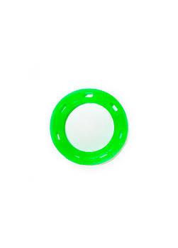 Игрушка для собак FOX кольцо с 6 сторонами зеленая, 15 см (с запахом ванили)