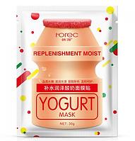 Тканевая маска, увлажняющая и питательная Rorec Replenishment Moist Yogurt Mask