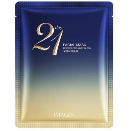 Увлажняющая и успокаивающая маска Jomtam 21 Day Facial Mask Moisturising Comfortable