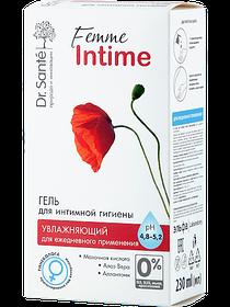 Гель для інтимної гігієни Зволожуючий для щоденного застосування 230 мл Dr.Sante Femme Intime