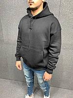 Мужское худи на флисе 2Y Premium 6024 Black