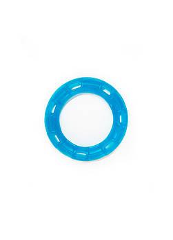 Игрушка для собак FOX кольцо с 6 сторонами синяя, 15 см (с запахом ванили)