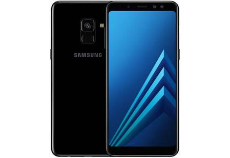 Смартфон Samsung Galaxy A8 Plus A730F Black Stock A-, фото 2