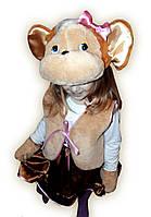 Детский карнавальный костюм Обезьянки девочка, фото 1