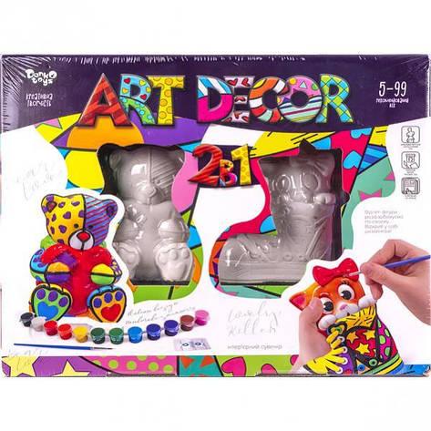 Креативное творчество «ART DECOR» 2 в1 УКР ARTD-02–01, фото 2